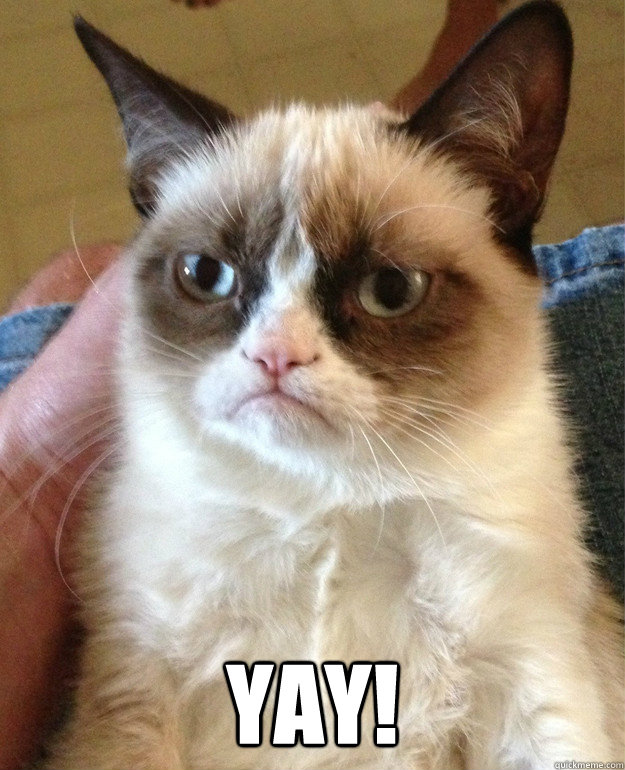 Yay Grumpy Cat Quickmeme (2) posts with repetitive content or certain generic topics to help maintain subreddit quality; quickmeme