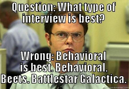 question from dwight - quickmeme