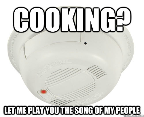 Cooking Let Me Play You The Song Of My People Unhelpful Smoke