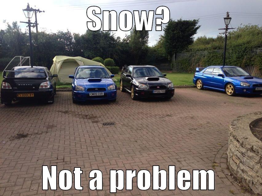 Subaru snow - quickmeme
