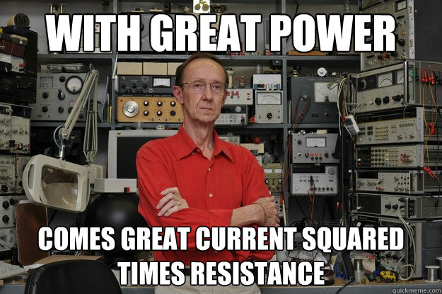 Nerd power meme