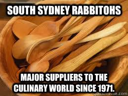 South sydney rabbitohs jokes