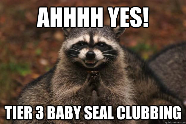 Image result for clubbing baby seals meme
