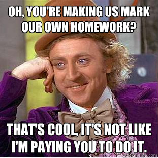 Do Your Own Homework