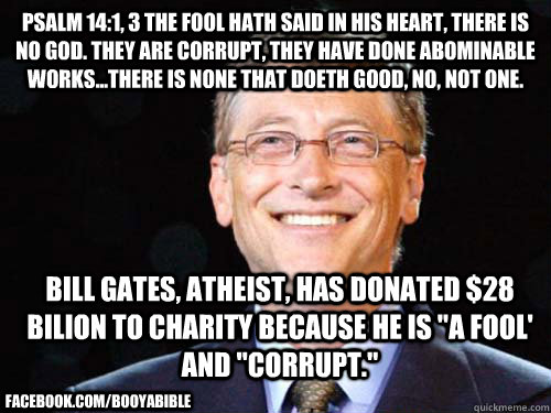 Psalm 14 1 3 The Fool Hath Said In His Heart There Is No God