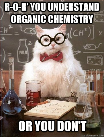 R-O-R' you understand organic chemistry or you don't