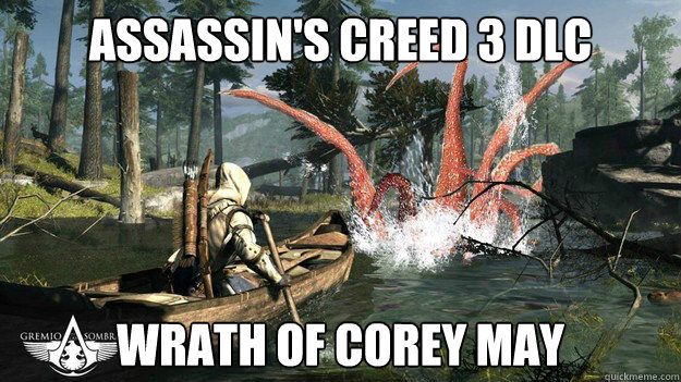 Assassin S Creed 3 Dlc Wrath Of Corey May Ac3 Dlc Wrath Of