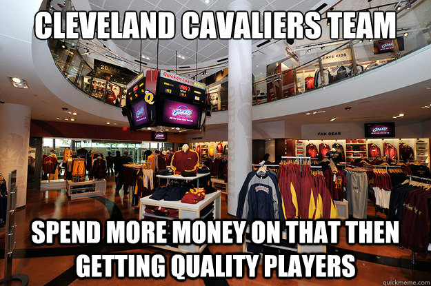 info for d9077 4957a Cleveland Cavaliers Team Shop Spend more money on that then ...