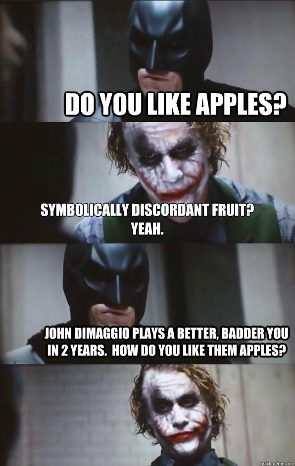 Do You Like Apples Symbolically Discordant Fruit Yeah John