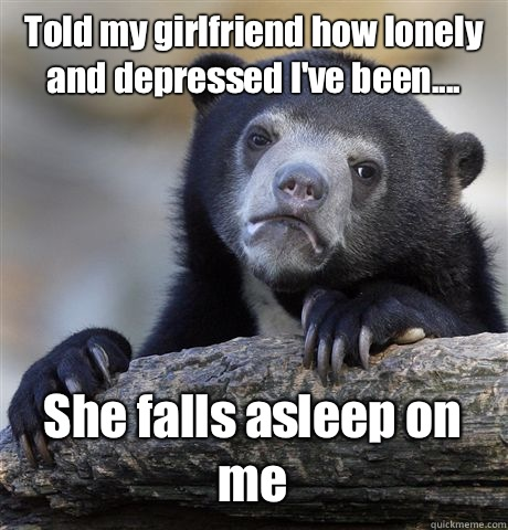 Why is my girlfriend depressed