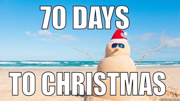 Until Christmas 70 Days Till Christmas.Xmas Countdown Quickmeme