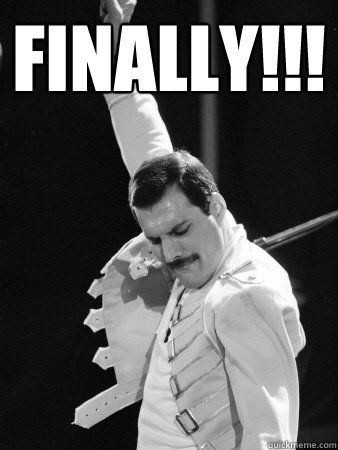 Finally Freddie Mercury Quickmeme