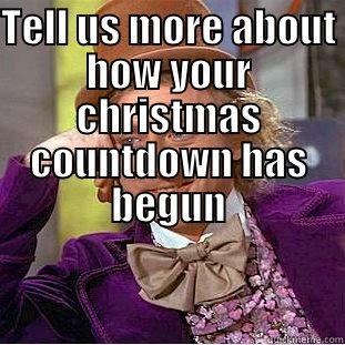 Countdown To Christmas Meme.Tell Us More About How Your Christmas Countdown Has Begun