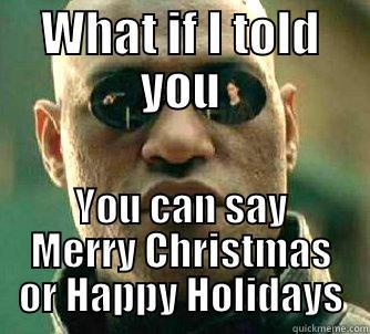 Christmas Holidays Meme.Happy Holidays Vs Merry Christmas Quickmeme