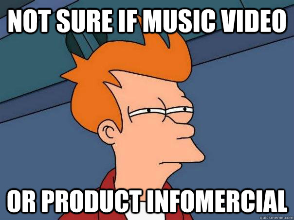 Not sure if Music Video Or Product infomercial - Futurama