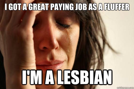 Lesbian Fluffer