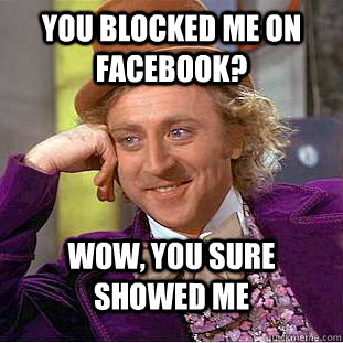 You meme me did block 4 Ways