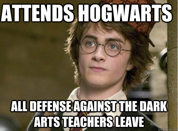 Attends Hogwarts All Defense Against The Dark Arts Teachers Leave