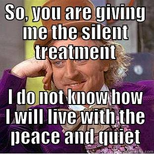 The Silent Treatment Meme