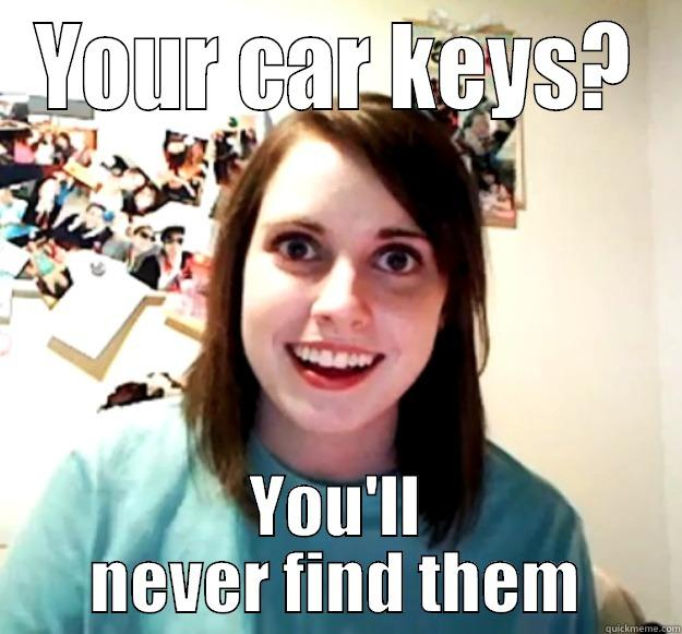 Lost Keys Quickmeme