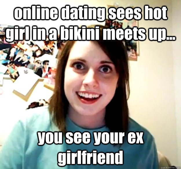 seeing your ex on a dating website