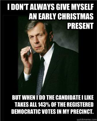 Early Christmas Present Meme.I Don T Always Give Myself An Early Christmas Present But