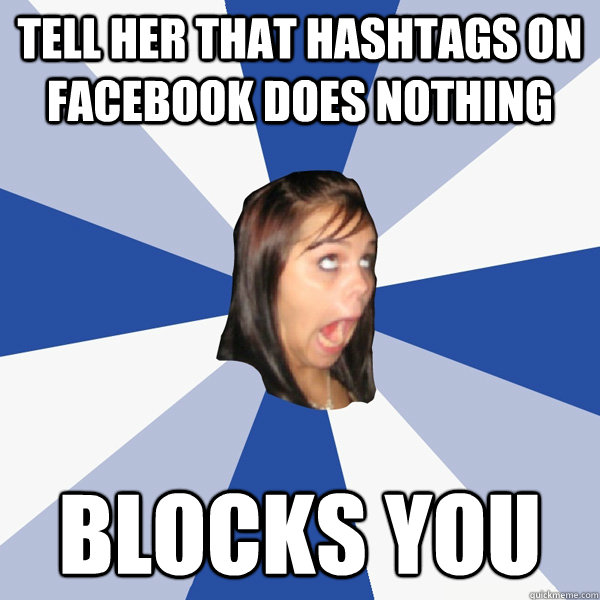 When someone blocks you on facebook