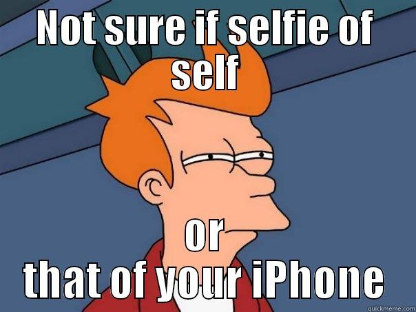 iPhone selfies in front of mirrors - quickmeme