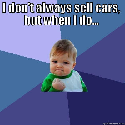 Selling Cars - quickmeme