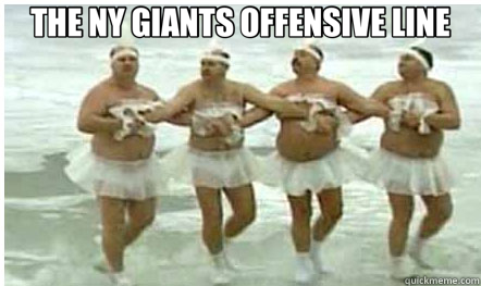 The Ny Giants Offensive Line Dallas Cowboys Quickmeme