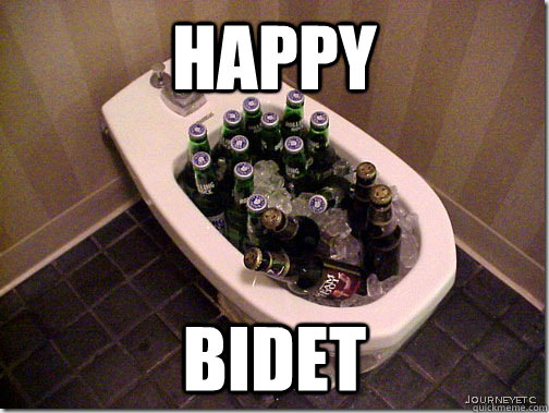 Happy Bidet Misc Quickmeme