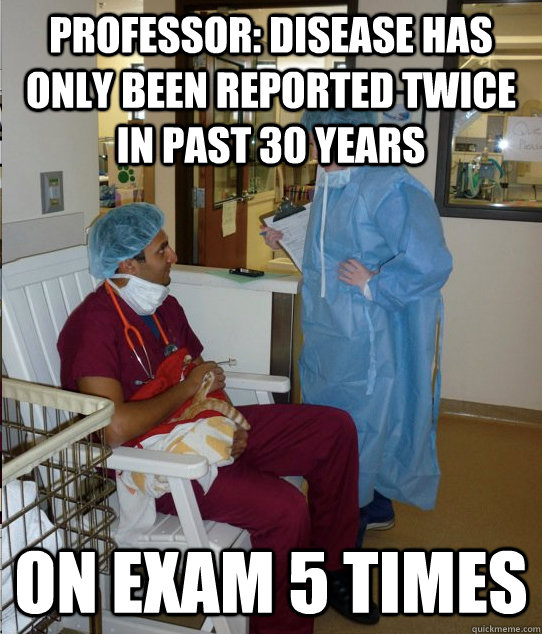 Professor: disease has only been reported twice in past 30