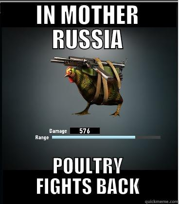 Russian Chicken Image From Dead Trigger 2 Quickmeme
