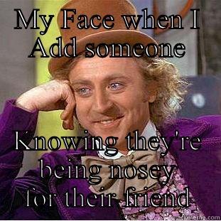 Nosey bitches - quickmeme