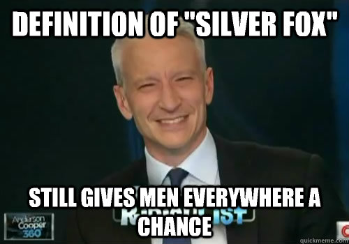 Definition Of Silver Fox Still Gives Men Everywhere A Chance