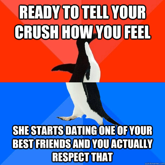 what to do when your dating your best friends crush