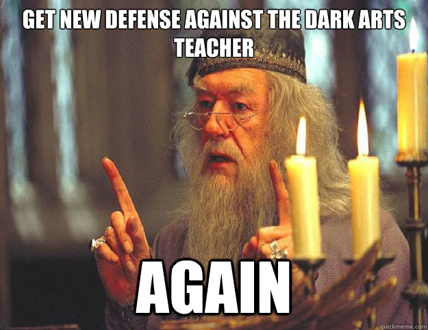 Get New Defense Against The Dark Arts Teacher Again Dumbledore
