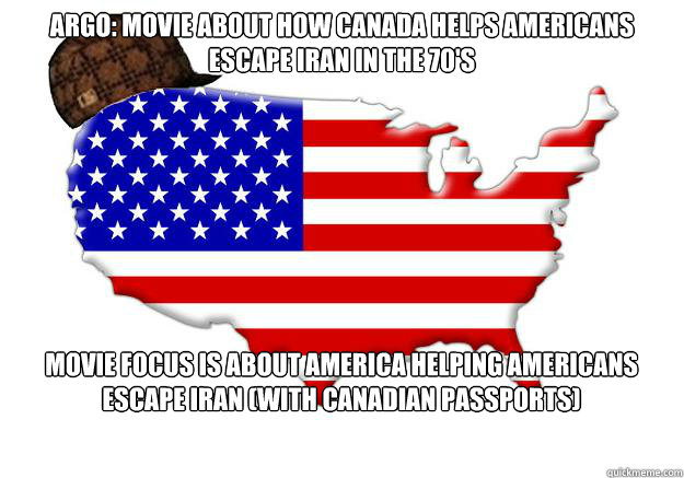 Argo Movie About How Canada Helps Americans Escape Iran In The