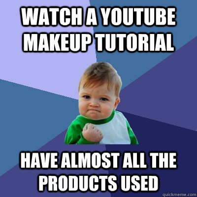 watch a youtube makeup tutorial have