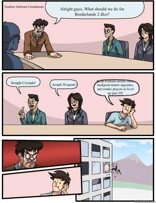 Alright guys, What should we do for Borderlands 2 dlcs
