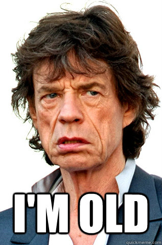 Image result for OLD MICK JAGGER GIF