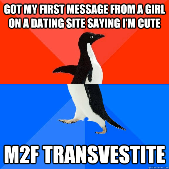 first message to girl on dating site