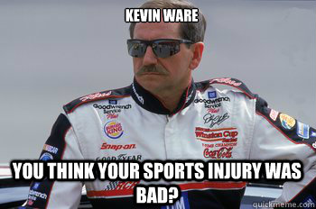 You think your sports injury was bad? Kevin Ware - RIP Dale