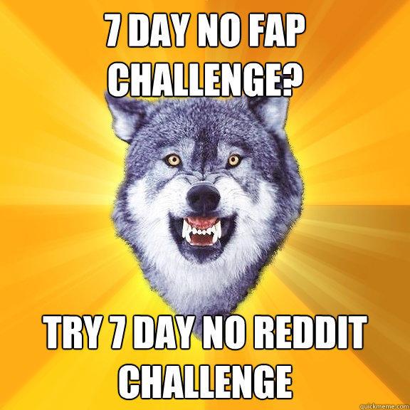 Challange no fap No Fap