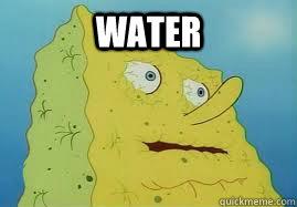 water - Hangover Spongebob - quickmeme