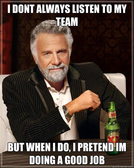 Great Job Team Funny