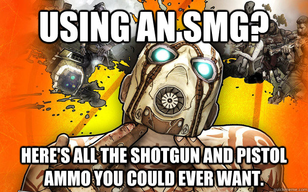 Using an SMG? Here's all the shotgun and pistol ammo you