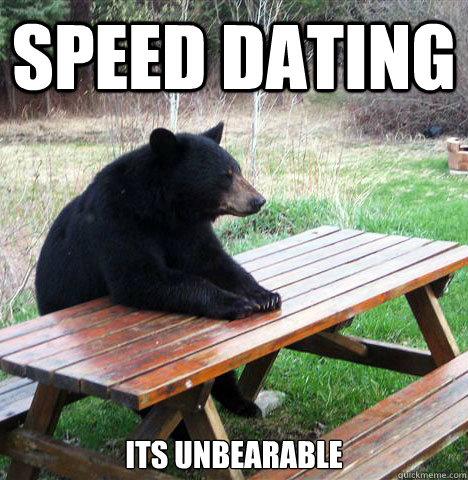 black bear speed dating