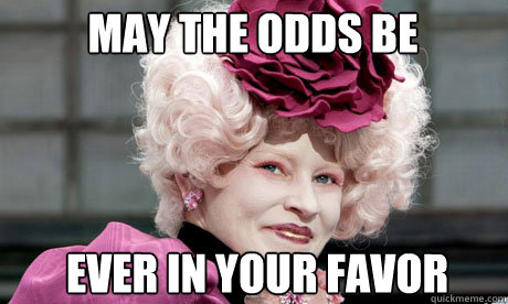 Image result for may the odds be ever in your favor gif