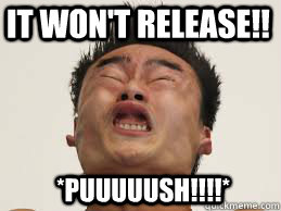 It Won T Release Puuuuush Constipation Quickmeme